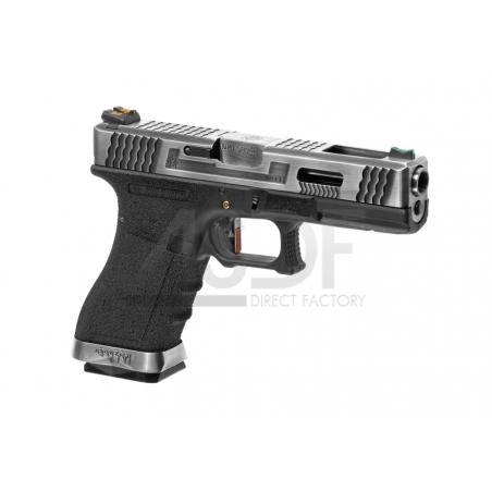 WE - Série G17 Custom Metal Version GBB DUAL TONE-24151