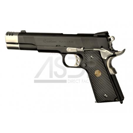 Socom Gear - Punisher 1911 Full Metal GBB en Malette-24970