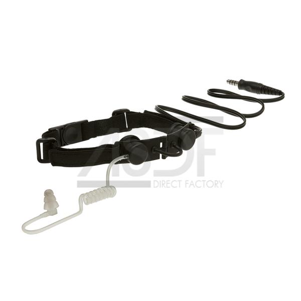 Ztactical - Laryngophone tactique Noir (Throat Mic)-2692
